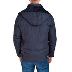 Haider Jacket // Navy Blue (S)