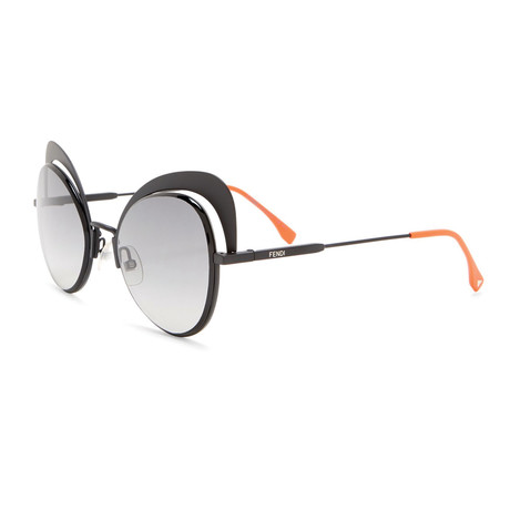 Fendi // Women's Sunglasses V1 // Black + Gray Gradient