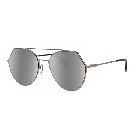 Fendi // Women's Sunglasses // Gold + Gray