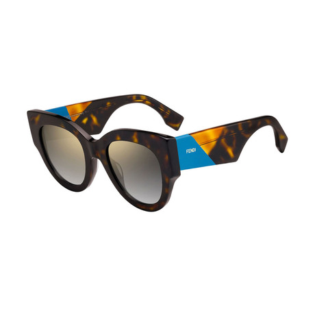 Fendi // Women's Sunglasses // Dark Havana