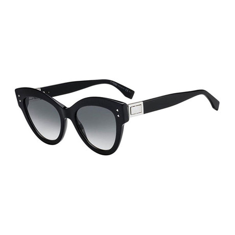 Fendi // Women's Sunglasses V2 // Black + Gray Gradient