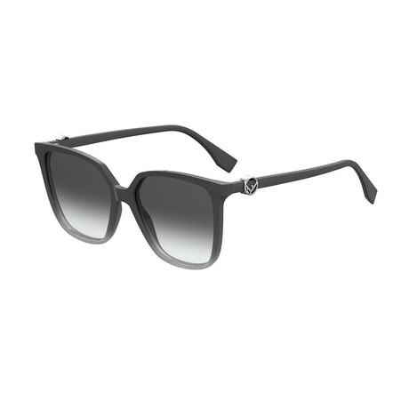 Fendi // Women's Sunglasses // Gray + Dark Gray