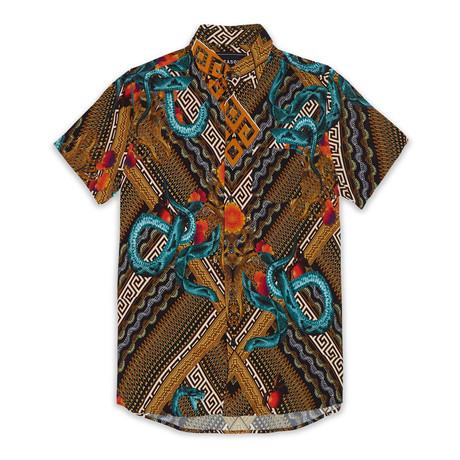 Serpents Woven Shirt // Multicolor (S)