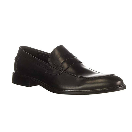 Anders Penny Loafer // Black (US: 8)