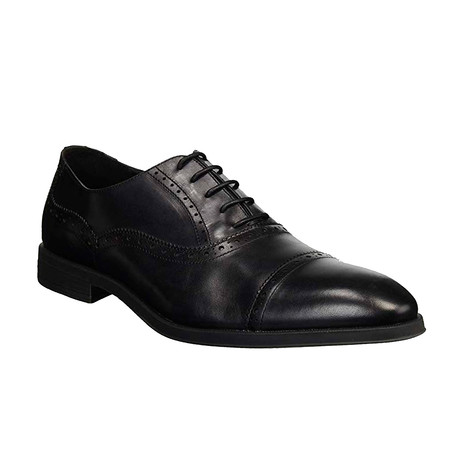 Augustine Brogued Cap Toe Oxford // Black (US: 8)