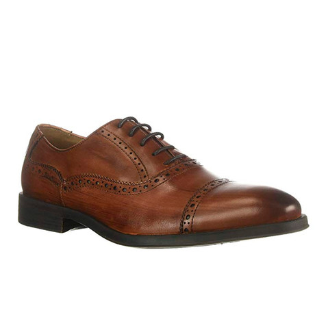Augustine Brogued Cap Toe Oxford // Cognac (US: 8)