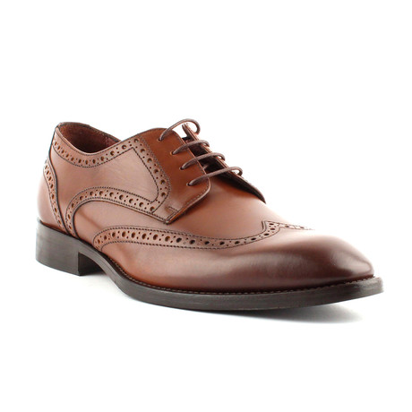 Adams Wingtip Derby // Chestnut (Euro: 40)