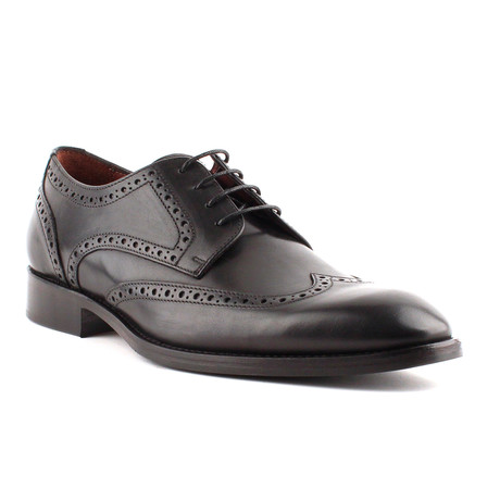 Adams Wingtip Derby // Black (Euro: 40)