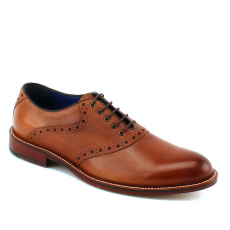 Phillips Saddle Oxford // Cognac (US: 8)
