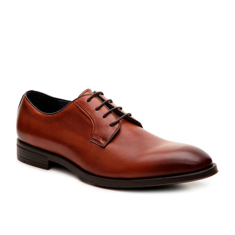 Callan Plain Toe Derby // Cognac (US: 8)