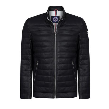 California Leather Jacket // Black (XS)