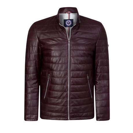 California Leather Jacket // Bordeaux (XS)