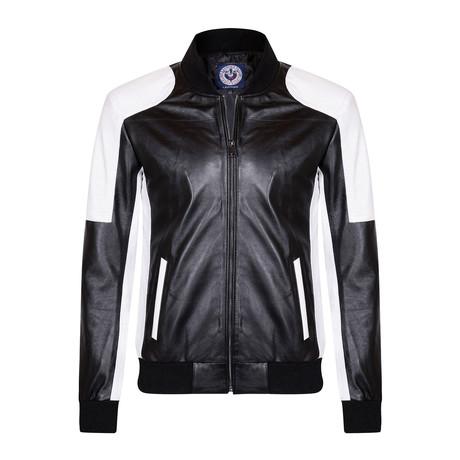 Cycler Leather Jacket // Black (XS)