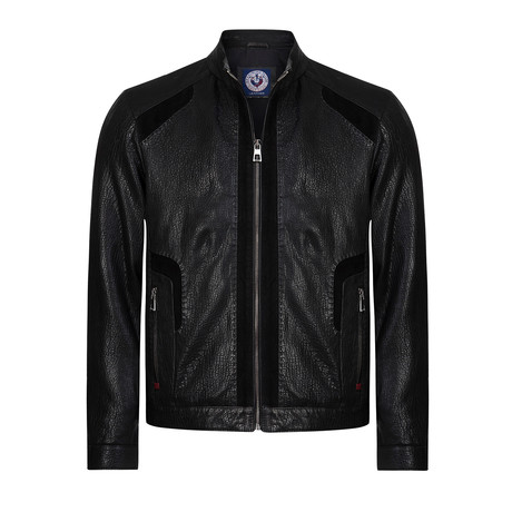 Scrum Leather Jacket // Black (XS)