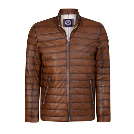California Leather Jacket // Whisky (XS)