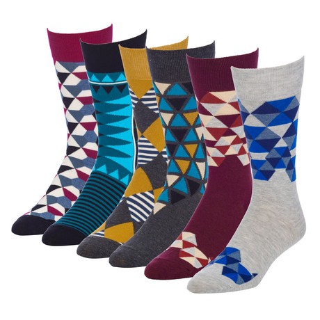 Native Umbrella Crew Sock // Pack of 6