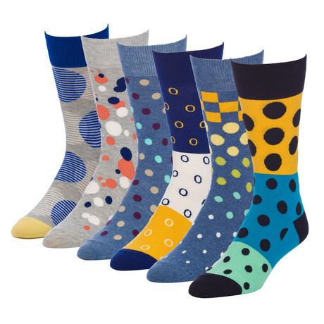 Sonic Colossal Crew Sock // Pack of 6
