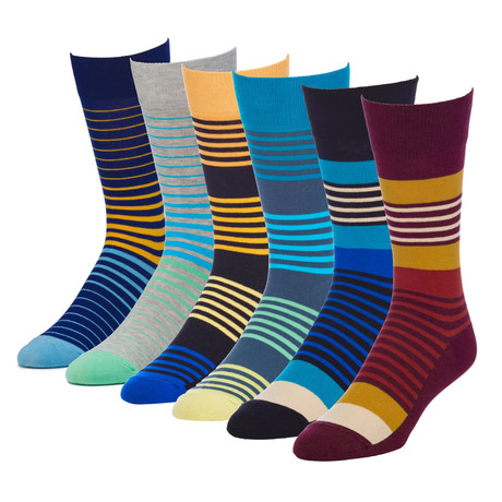 Zen Collected Crew Sock // Pack of 6