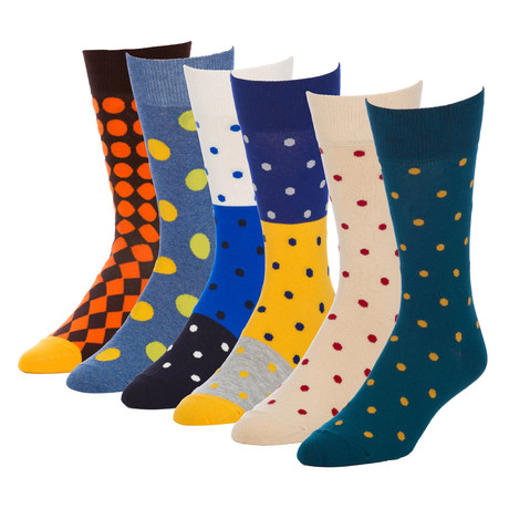 Rhythm Elementary Crew Sock // Pack of 6