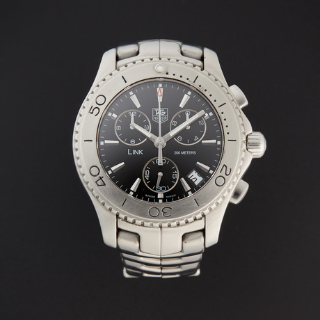 Tag Heuer Link Chronograph Quartz // CJ1110.BA0576 // Pre-Owned