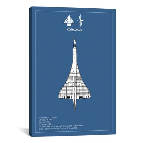 "BAE Concorde // Mark Rogan (12""W x 18""H x 0.75""D)"