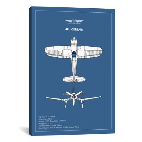 """BP CV F4U-Corsair // Mark Rogan (12""""W x 18""""H x 0.75""""D)"""