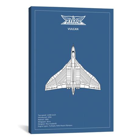 """BP Avro Vulcan // Mark Rogan (12""""W x 18""""H x 0.75""""D)"""
