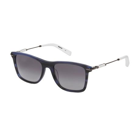Ducati // Men's Square Sunglasses // Dark Navy Blue