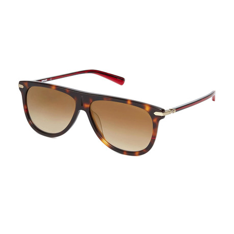 Ducati // Unisex Aviator Sunglasses // Tortoise