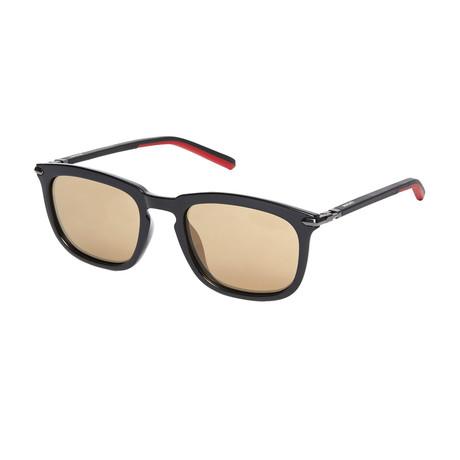 Ducati // Men's Square Sunglasses // Black + Red