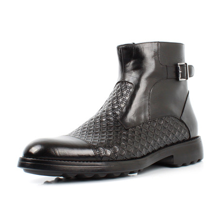 Buckle Boots // Black (Euro: 39)
