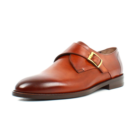 Buckle Dress Shoes // Brown (Euro: 39)