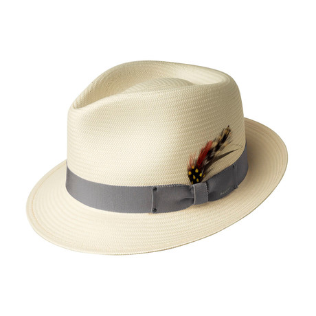Guthrie Hat // Natural + Alloy (S)
