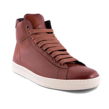 High Top Sneakers // Informal Brown (US: 7)