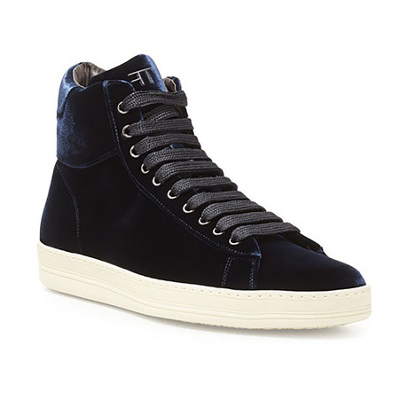 High Top Sneakers // Blue (US: 7)