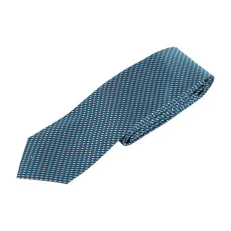 Geometric Neck Tie // Blue