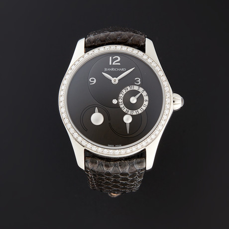 JeanRichard Bressel Lady Automatic // 64143D11A61A-AG2D // Store Display
