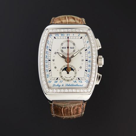 Dubey & Schaldenbrand Grand Chronograph Astro Diamond Automatic // AGCA54/ST/SIB // Store Display