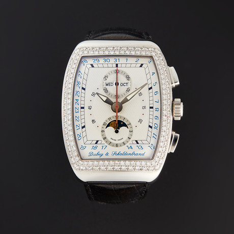 Dubey & Schaldenbrand Grand Chronograph Astro Diamond Automatic // AGCA136/ST/SIB // Store Display