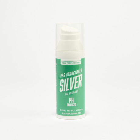RPG Structured Silver Gel with Aloe // 15 PPM // 2 fl. oz.