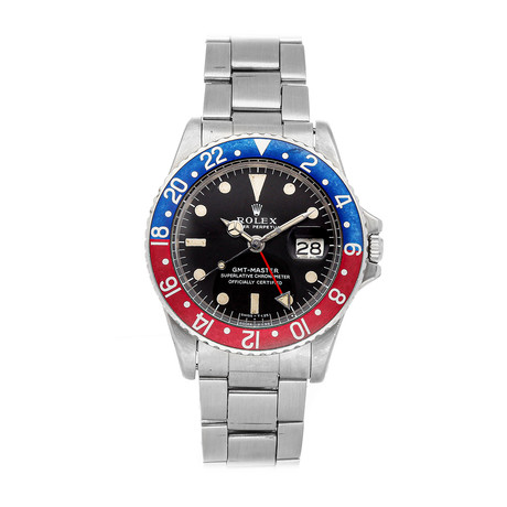 Rolex Vintage GMT-Master Pepsi Automatic // 1675 // 1.8 Million Serial // Pre-Owned