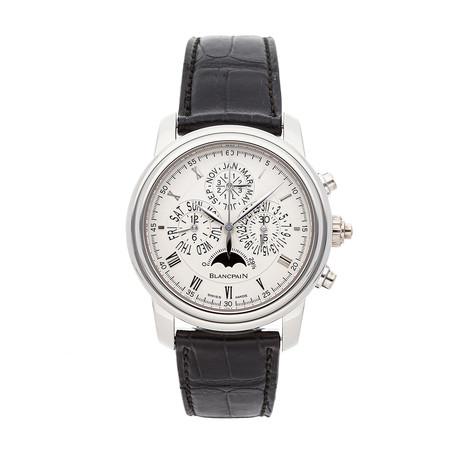 Blancpain Villeret Perpetual Calendar Chronograph Automatic // 6057-1542-55B // Pre-Owned