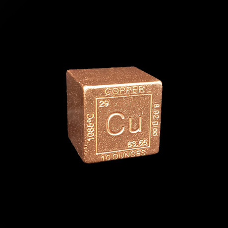 Element Cube // Copper
