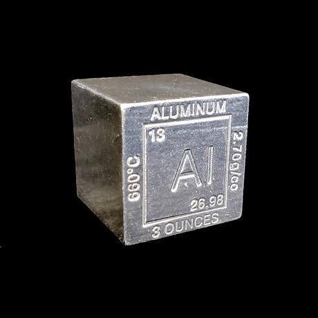 Element Cube // Aluminum