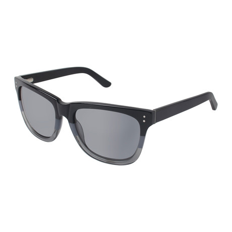 Men's Iga Square Polarized Sunglasses // Black