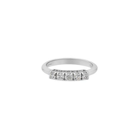 Salvini 18k White Gold Diamond Ring // Ring Size: 7.5 // Pre-Owned