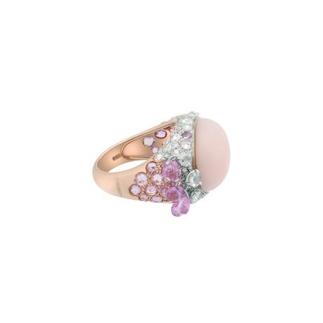 Verdi 18k Rose Gold Multi-Stone Ring // Ring Size: 8.5 // Pre-Owned