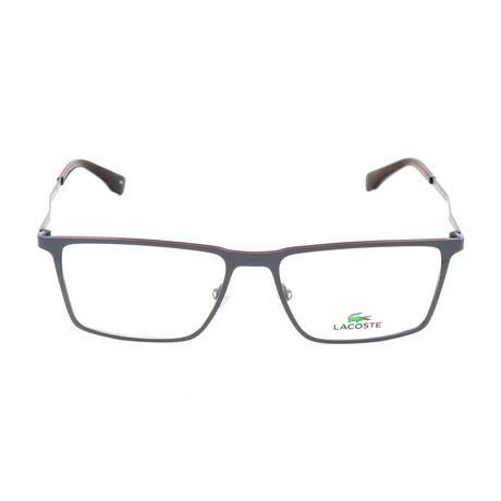 Men's L2242 Optical Frames // Matte Gunmetal