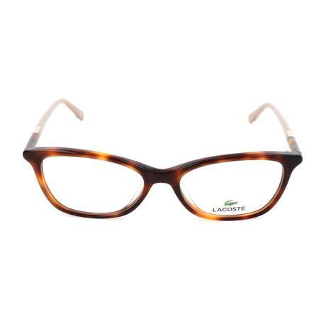 Women's L2791 Optical Frames // Havana
