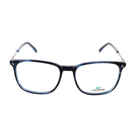 Men's L2805 Optical Frames // Striped Blue